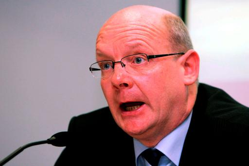 Former IFA general secretary Pat Smith who resigned after 25 years amid controversy over pay