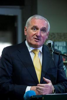 Bertie Ahern. Photo: Arthur Carron
