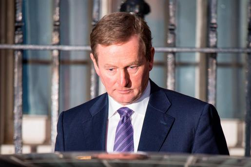 Taoiseach Enda Kenny: What will his legacy be? Photo: PA