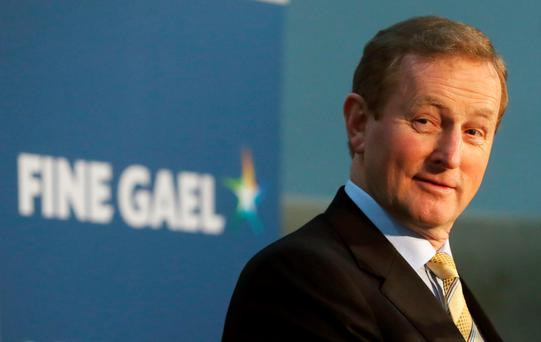 Enda Kenny. Photo: PA