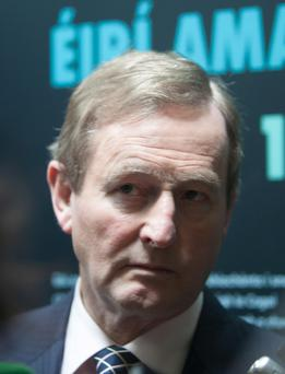 Taoiseach and Fine Gael leader Enda Kenny. Is the FG brand now too toxic for the party to stay in government? Photo: Collins Photo Agency