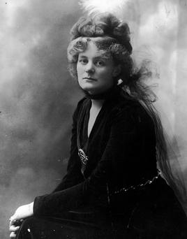 Maud Gonne MacBride was held in Holloway Jail for female prisoners. Photo: Keystone/Getty Images