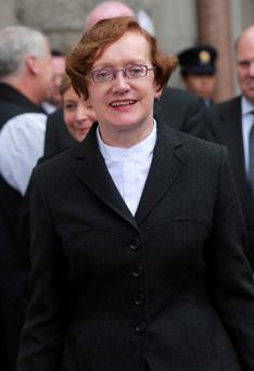 Attorney General Máire Whelan gave advice on water charges issue. Photo: Rollingnews.ie