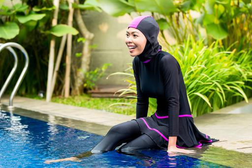 'France's bans on burkinis should be repealed immediately.' (Photo posed)