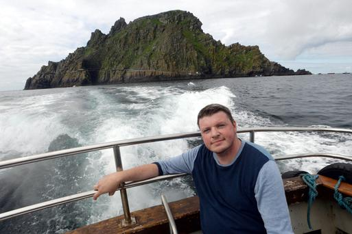 Thousands of tourists have flocked to Skellig Michael