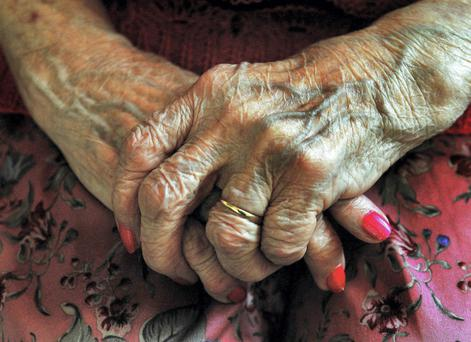 Most elderly people reported having an optimistic outlook on life Photo: PA