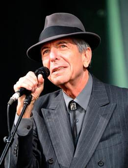 Much-loved singer Leonard Cohen was among those who died this year