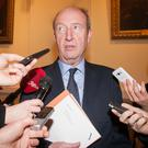 Indifference: Transport Minister Shane Ross has come in for criticism