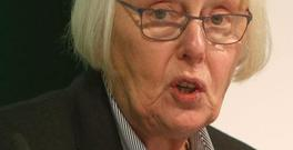 Chairwoman Ms Justice Mary Laffoy speaks at the Citizens' Assembly