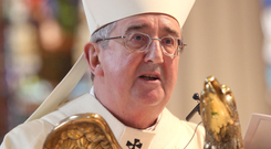 Archbishop Martin commented on the Church's history