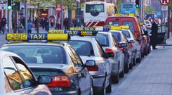 Pressure: Taxi drivers have endured huge hikes in the cost of insurance