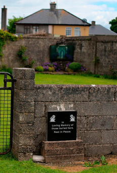 Tuam mother and baby home in Co Galway. Photo: PA