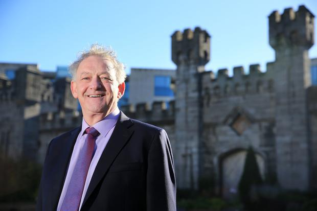 Runner-up: Candidate Peter Casey pictured in Dublin Castle during the presidential election count