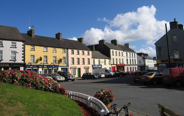 Decline: Towns such as Mountrath are now shadows of their once-glorious selves PHOTO: SARAH777@WIKIPEDIA