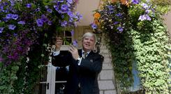 Book: Francis Brennan, co-owner of the Park Hotel in Kenmare, Co Kerry. Photo: Don MacMonagle