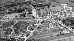 Home comforts: Coolock in Dublin provided good housing in the late 1950s. Photo: Independent/NPA