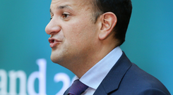 'During his remarks to the Pope last August, Leo Varadkar called for a