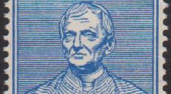 John Newman stamp from 1954