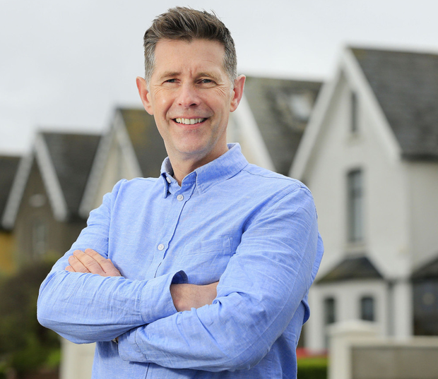 'One courtyard too many': 'Room to Improve' presenter Dermot Bannon. Photo: Gerry Mooney