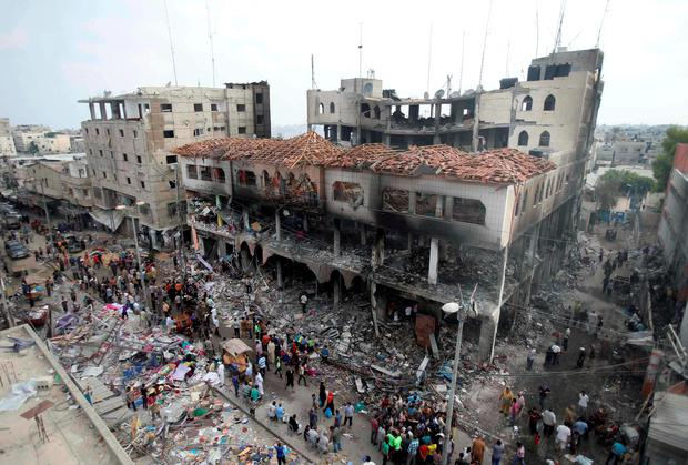 Rebuilding Gaza must now be an international priority