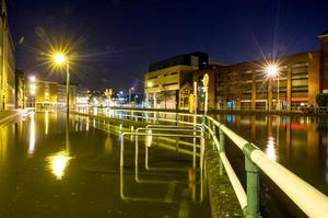 Cork High Tide, 6.30am this morning. Photo: Michael Mc Sweeney/Provision