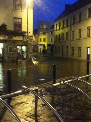 Flood St, Galway. Photo: Twitter/LynScribbles