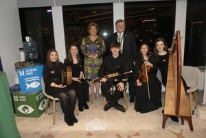 The young musicians from Dundalk who performed in New York