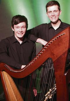 Michael O'Neill from Ardee and Conal Duffy from Dundalk will perform 'Hang the Harpers'.