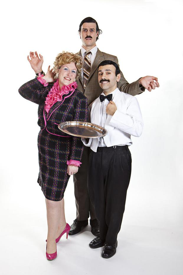 The Faulty Towers dining experience comes to the Crowne Plaza