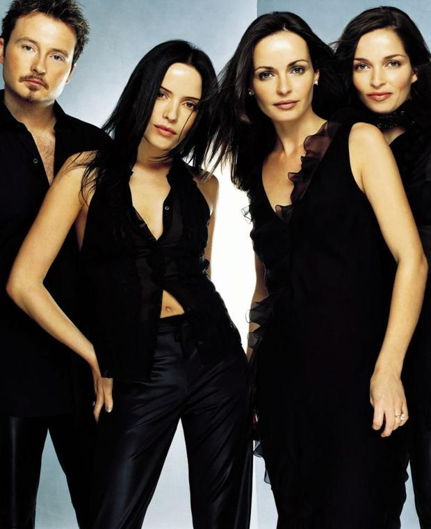 The Corrs during the height of their popularity, a period in which they sold 30 million albums worldwide - Jim, Andrea, Sharon and Caroline