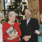 Ken Finegan, Carmel Naughton, Padraig McGovern and Mary Gaughran at the official launch of Ken's photographic book 'The Person Inside' in The Birches Alzheimer Day Care Centre