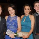 Ultan Markey, Ardee, Chloe Finley, Bellurgan, Olivia Traynor, Jenkinstown and David Lambe, Ravensdale, attended the De La Salle Graduation Ball
