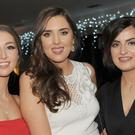 Roisin Brayden, Aisling Treacy-Dunne and Laura Connolly at their joint 21st birthday party in Dundalk Golf Club