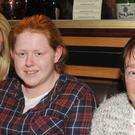Shannon Murray (left), Glenmore Park, Kim McGuinness, O'Hanlon Park and Marian Callan, Wolfe Tone Terrace at the Order Of Malta table quiz in Kennedy's Bar, Carrick Road