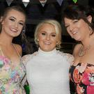 Abbie, Debbie and Stephanie McDonald at Debbie's 21st birthday party in Oriel Park
