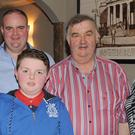 Mary, Conor, Patrick, Henry and Susan Deery at Henry's retirement function held in Byrne's Pub, Hill Street