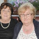 Theresa McKeown, Bellurgan, Patricia Callan, Culhane Street and Gertrude Bird, Beechmount Drive at Ann and Dermot Gonnelly's 50th Wedding Anniversary celebrations in The Lisdoo