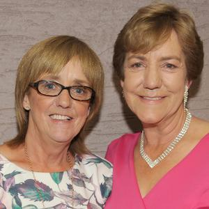 Betty Mellon (left), Point Road and Kathleen Dollard, Hyde Park and their joint birthday celebrations held in Dundalk Rugby Club