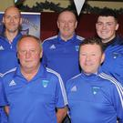 Joe Weir, Eamonn Farrell, Ciaran Caldwell, Mark Sheils, Vincent Duffy and Gary Rogers