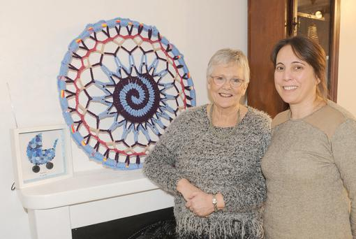 Brenda Leary and Rita Alves, The Crafty Rock, Blackrock