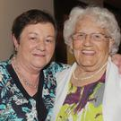 Alice Taaffe, Ardee Terrace and Betty Ralph, St. Malachy's Villas at Alice's 70th birthday party in The Lisdoo