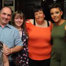 Ellie, Stephen, Erin, Josie, Kim and Katie O'Brien at Kim O'Brien's 21st in St. Josephs GFC