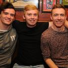 Tiernan Crosby, Sean Kerr, Eugene Rooney and Mark Meenan at Courtneys 20th Birthday celebrations