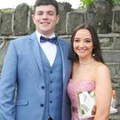 Gavin Erasmus of Blackrock and Kate Burns of Bay Estate who attended the St. Mary's College Debutante Ball.