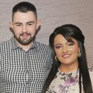 Ryan Kellegher, Fatima and Shauna Woods, Carrick Road at Ryan's 21st birthday party in Dundalk Rugby Club