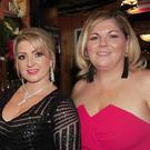 Liam Quinn, Leanne McConville, Yvonne Mulligan and Michelle Carroll at the McManus' Pub 120th anniversary celebrations night in Seatown
