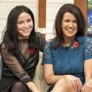 Andrea and Caroline Corr on TV with host Susanna Reid