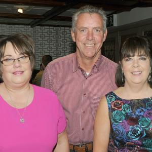 Una McFadden, Paddy Begley and Margaret Slavin, Bus Éireann, Dundalk at their retirement function in Byrne's of No. 10