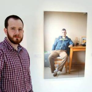 Photographer Ciaran Dunbar is the artist-in-residence at Creative Spark for March and April