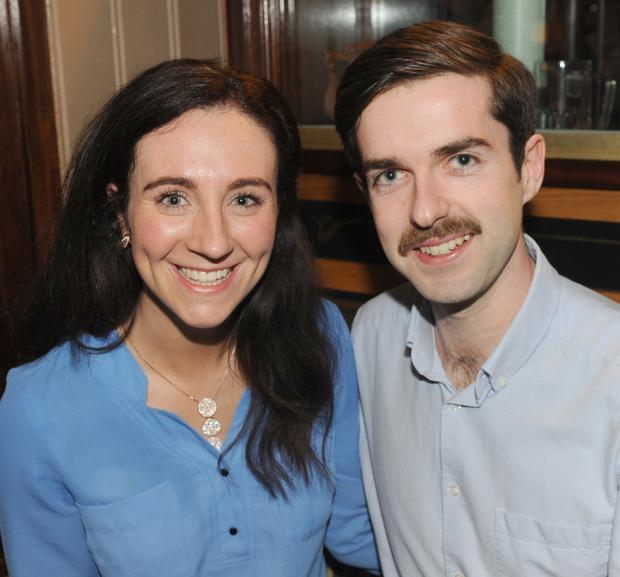Annmarie Duffy, Dublin Road and Rory Mulholland, Kilkerley, at the Dundalk Lions Club table quiz in Kennedy's Bar